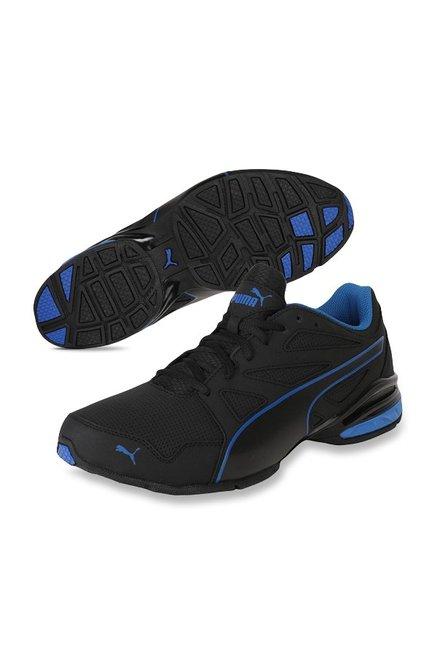 b3607ee7c46 Buy Puma Tazon Modern SL FM Black   Lapis Blue Running Shoes for Men ...