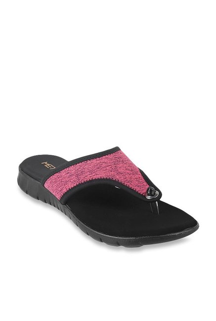 f0b4f533c Buy Metro Pink Thong Sandals for Women at Best Price   Tata CLiQ