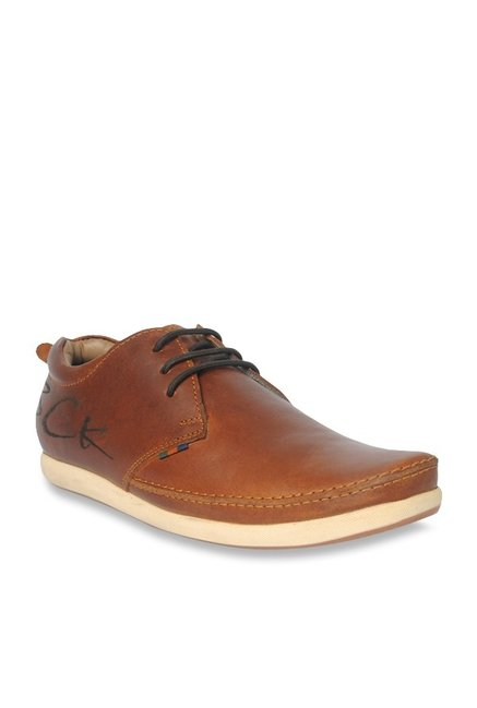 932f8bdf602 Buy BCK by Buckaroo Benito Brown Derby Shoes for Men at Best Price   Tata  CLiQ