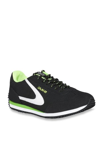 Buy Duke Black Running Shoes for Men at