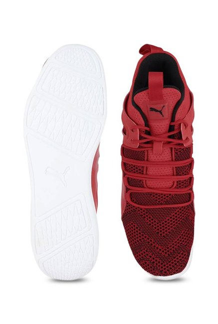 8ae504045695c3 Buy Puma Ferrari SF Evo Cat Mid Rosso Corsa Ankle High Sneakers for ...