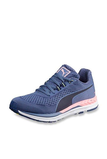3464aea4e1548c Buy Puma Speed 600 S Ignite Blue Depths Running Shoes for Men at Best Price    Tata CLiQ