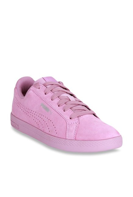 Buy Puma Smash Perf SD Smoky Grape Sneakers for Women at