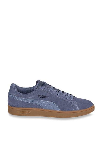 75e7e3c843c732 Buy Puma Smash V2 Blue Indigo Sneakers for Men at Best Price   Tata CLiQ