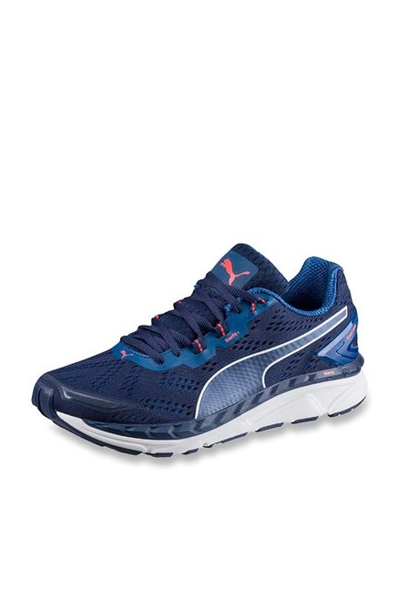 57423154f2f9 Buy Puma Speed 1000 Ignite Blue Depths Running Shoes for Men at Best Price    Tata CLiQ