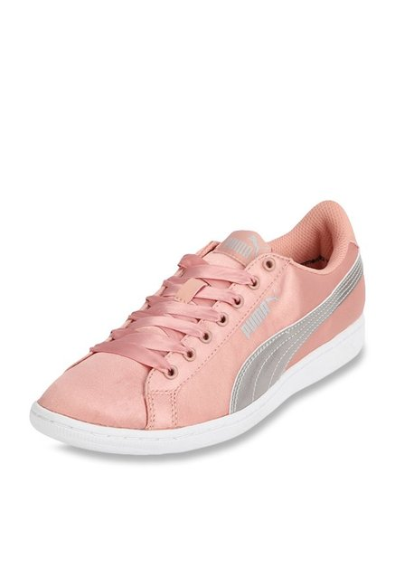 Buy Puma Vikky EP Peach Sneakers for