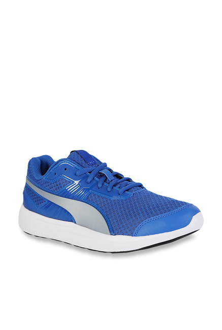 5587cd82b7b763 Buy Puma Escaper Pro Turkish Sea   Silver Running Shoes for Men at Best  Price   Tata CLiQ
