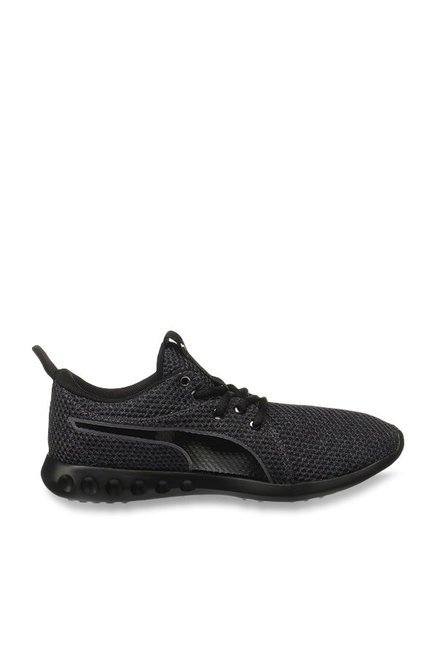 059a6ae37471 Buy Puma Carson 2 Knit IDP Periscope   Black Running Shoes for ...