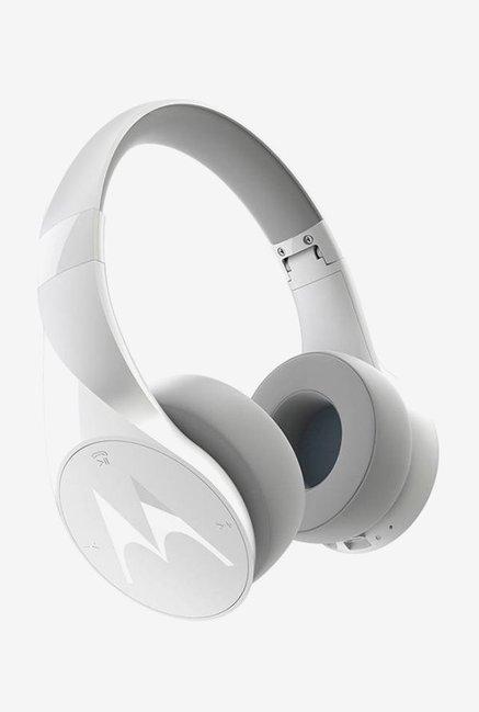 Motorola Pulse Escape Over the Ear Bluetooth Headphones (White)