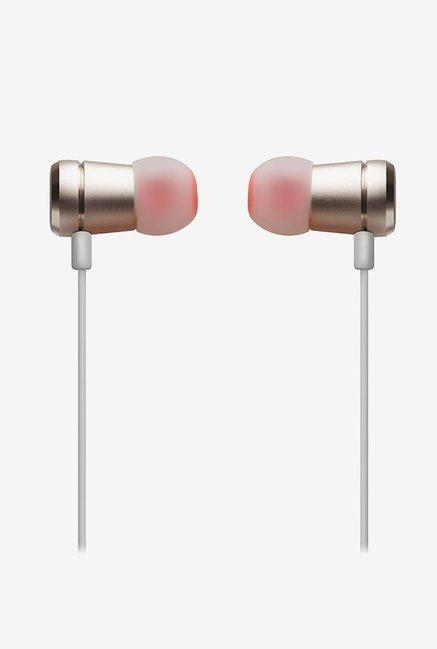 c0609e5155c Buy JBL T290 In the Ear Headphones (Gold) Online At Best Price ...