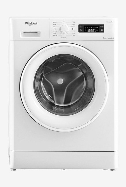 Whirlpool Freshcare 7110 7 kg Fully Automatic Front Load Washing Machine with Inbuilt Heater (White)
