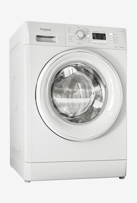 bdf7b568b065d Whirlpool Freshcare 7010 7 kg Fully Automatic Front Load Washing Machine ( White)