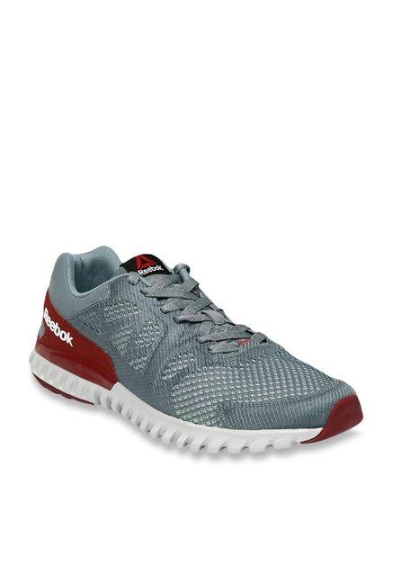 6153263c06d Buy Reebok Twistform Blaze 2.0 MTM Grey   Maroon Running Shoes for Men at  Best Price   Tata CLiQ