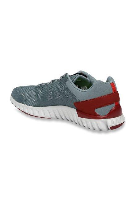 Buy Reebok Twistform Blaze 2.0 MTM Grey   Maroon Running Shoes for ... c617a8768