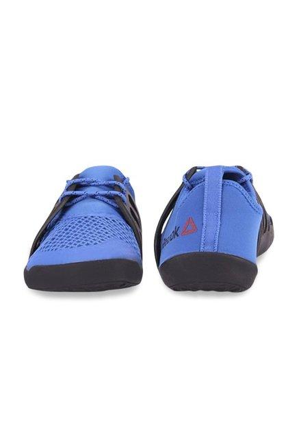 e386258cf4875a Buy Reebok Aqua Grip TR Blue   Black Training Shoes for Men at Best ...