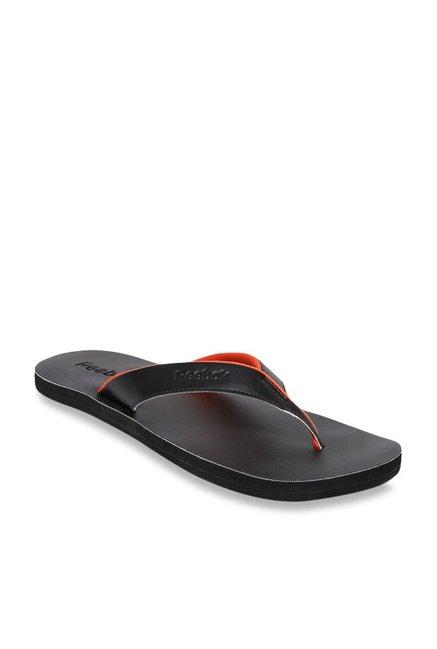 2ac04215ccbb Buy Reebok Advent Black Flip Flops for Men at Best Price   Tata CLiQ