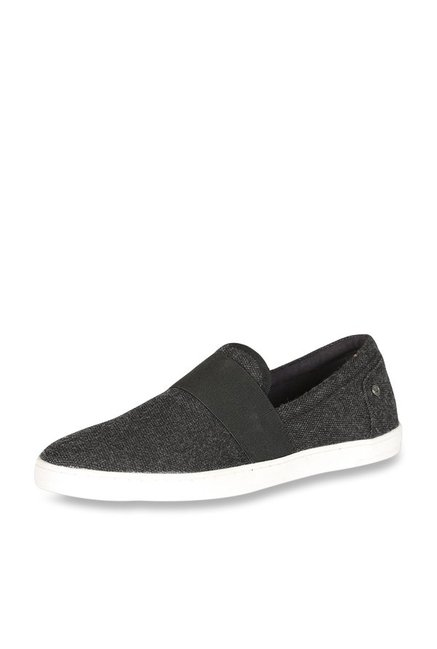 Allen Solly Black Casual Loafers