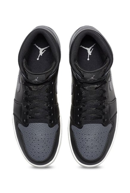 Buy Nike Air Jordan 1 Mid Black \u0026 Dark