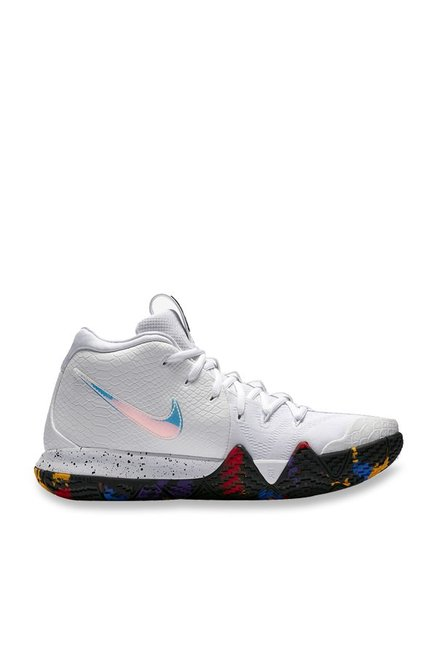 5c5046c14e4e Buy Nike KYRIE 4 White Basketball Shoes for Men at Best Price   Tata CLiQ