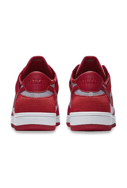 fa014ed2f6c7b Buy Nike Dunk Flyknit University Red   White Sneakers for Men at ...