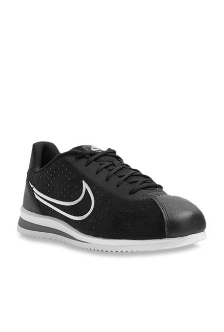 new arrival 14c7e 1af6c Buy Nike Cortez Ultra Moire 2 Black Sneakers for Men at Best Price   Tata  CLiQ