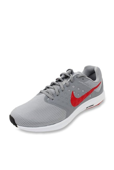 e9f3b38549630 Buy Nike Downshifter 7 Wolf Grey Running Shoes for Men at Best ...