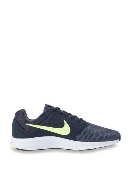 brand new 459b5 ea244 Buy Nike Downshifter 7 Thunder Blue Running Shoes for Men at ...