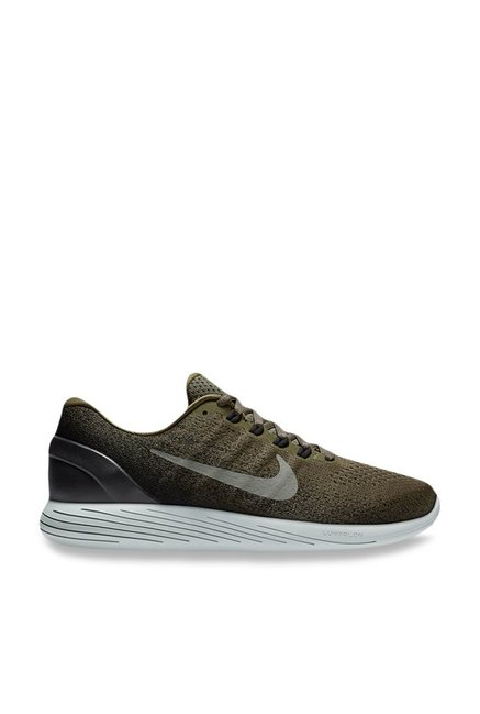 123ddae5fbe Buy Nike Lunarglide 9 Olive Running Shoes for Men at Best Price   Tata CLiQ