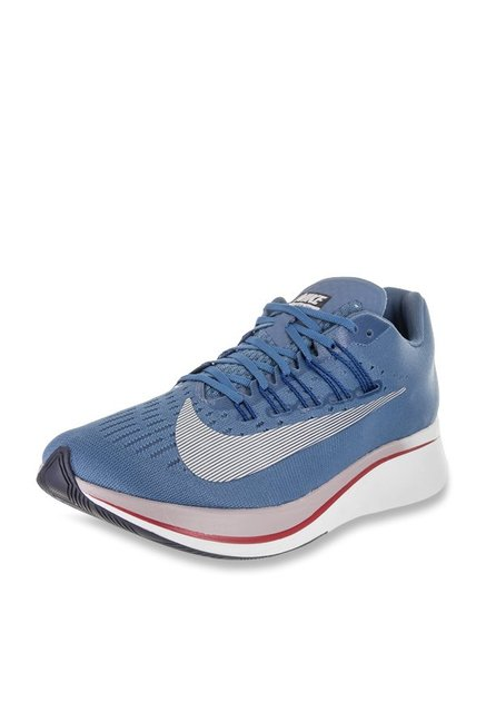 136484a10b3a Buy Nike Zoom Fly Aegean Storm Running Shoes for Men at Best Price   Tata  CLiQ