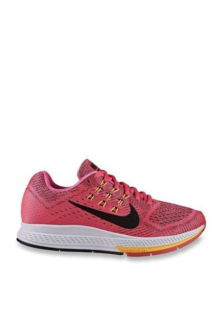 design de qualité 1f83c 37e2c Buy Nike Air Zoom Structure 18 Pink & Black Running Shoes ...