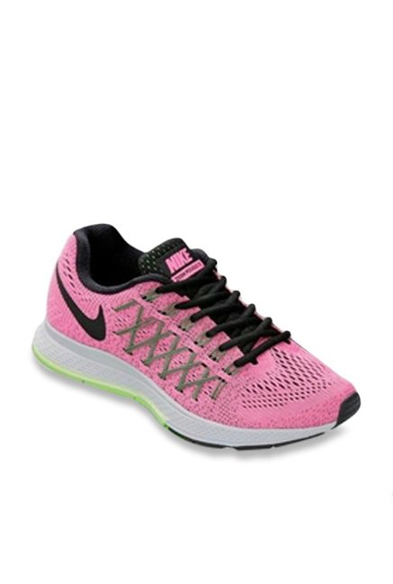 check-out 43cb1 37fbc Buy Nike Air Zoom Pegasus 32 Pink & Black Running Shoes for ...