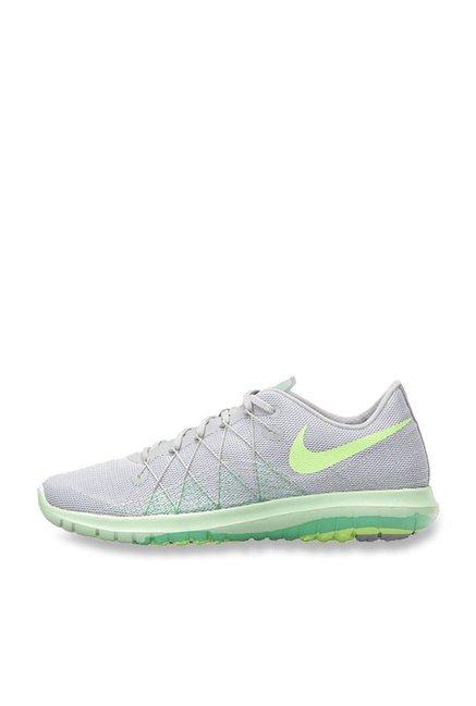 newest 482ec 6180c Buy Nike Flex Fury 2 Wolf Grey & Ghost Green Running Shoes ...