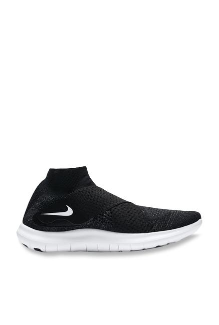 e3ac330536fa6 Buy Nike Free RN Motion FK 2017 Black Running Shoes for Women at Best Price    Tata CLiQ