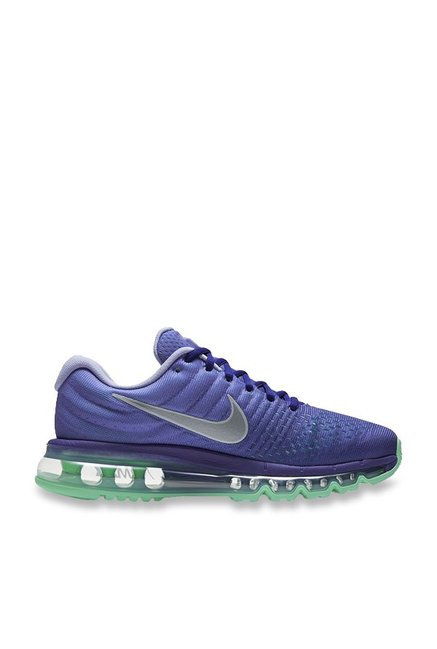 to buy footwear good service Buy Nike Air Max 2017 Concord Blue Running Shoes for Women at Best ...