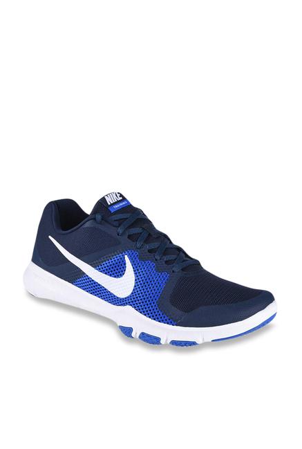 d6fbc5b24fae Buy Nike Flex Control Navy   Hyper Cobalt Training Shoes for Men at ...