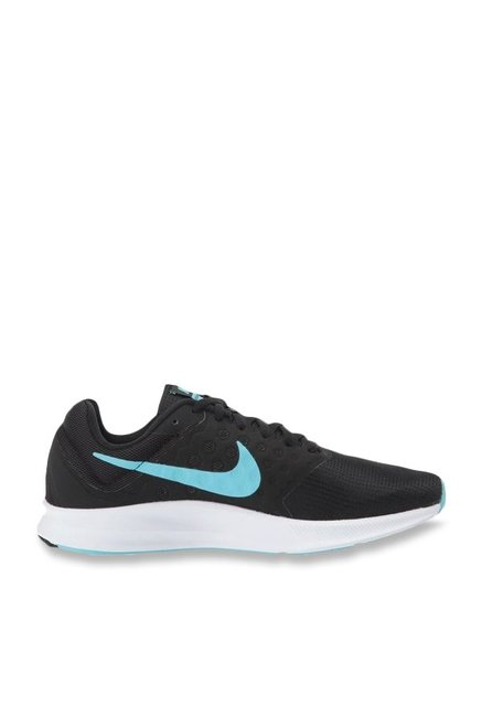 ce9a232f33a Buy Nike Downshifter 7 Black Running Shoes for Women at Best Price ...