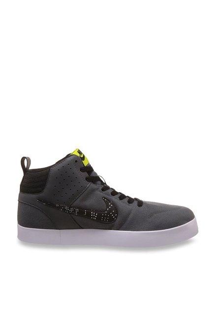 Buy Nike Liteforce III Mid Dark Grey Ankle High Sneakers for Men at ... f97b1829a