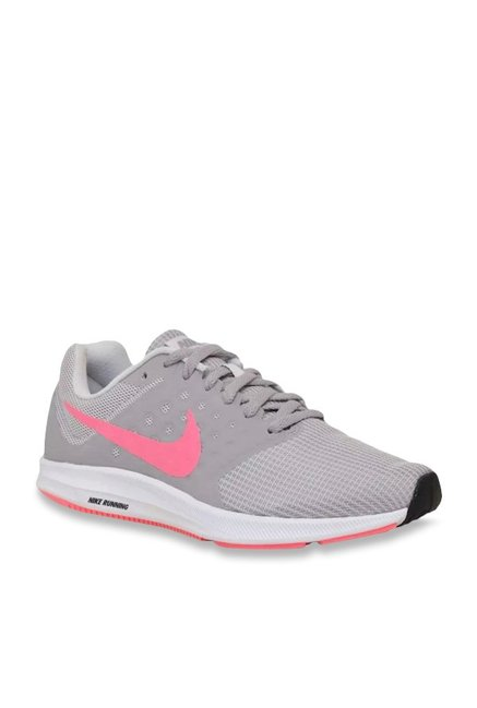 sports shoes 5b3f2 01884 Buy Nike Downshifter 7 Vast Grey Running Shoes for Women at Best Price @  Tata CLiQ