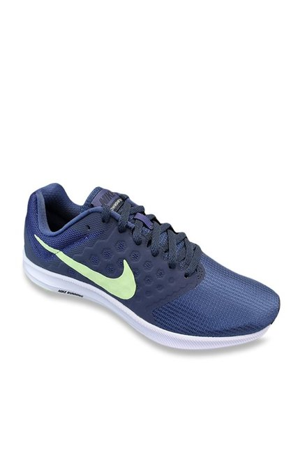 fab73667454 Buy Nike Downshifter 7 Blue Recall Running Shoes for Women at Best Price   Tata  CLiQ