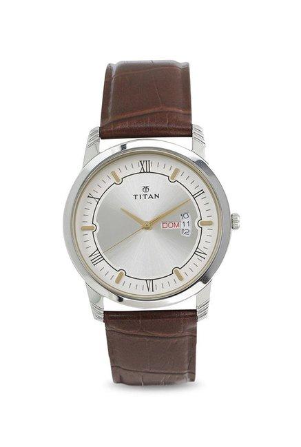 cad23438 Buy Titan 1774SL01 Karishma Analog Watch for Men at Best Price @ Tata CLiQ