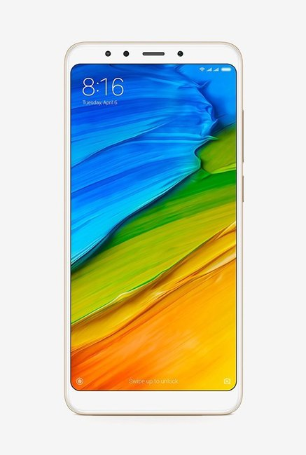 Xiaomi Redmi 5 32 GB (Gold) 3 GB RAM, Dual SIM 4G