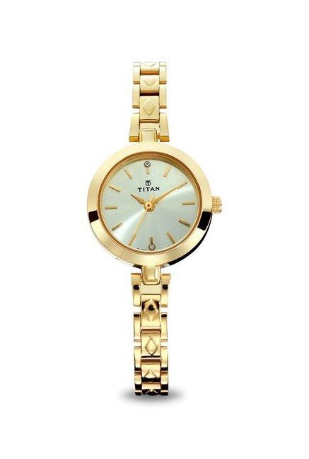 23bb1383b Buy Titan 2598YM01 Karishma Analog Watch for Women at Best Price   Tata CLiQ