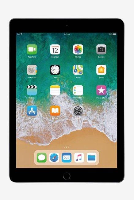 Apple iPad  6th Gen  MR7J2HN/A  9.7 Inch, 128 GB, Wi Fi Only  Space Grey Apple Electronics TATA CLIQ