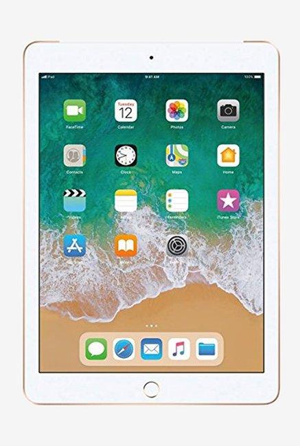 Apple iPad  6th Gen  128  GB 9.7 Inch with Wi Fi  Gold  Apple Electronics TATA CLIQ