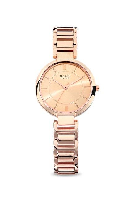 6a2758baf02 Buy Titan 2608WM01 Raga Viva Analog Watch For Women at Best Price ...