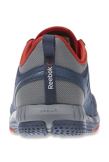 Buy Reebok Zprint 3D Navy   Grey Running Shoes for Men at Best Price ... 101a370a4