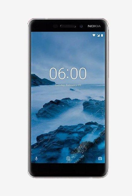 Nokia 6.1 64  GB  White/Iron  4  GB RAM, Dual SIM 4G