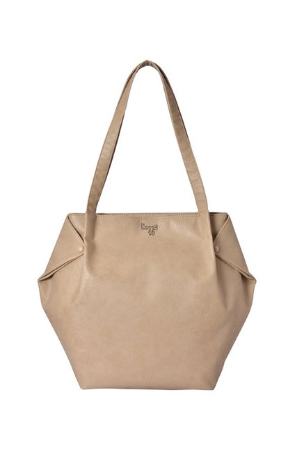 Baggit Lxe5 Attire Y G E Zoe Sand Beige Solid Shoulder Bag