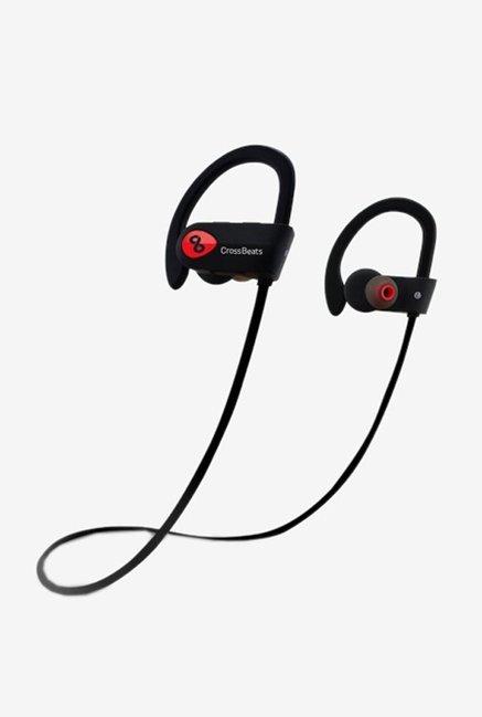 1fe3c82949b Buy Crossbeats Wave In the Ear Bluetooth Headphones (Black) Online At Best  Price @ Tata CLiQ