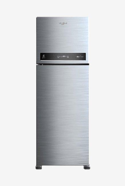 Whirlpool IF 278 ELT COOL 265 L 3 Star Frost Free Double Door Refrigerator  Illusia Steel